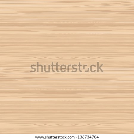 Light wood realistic texture - stock vector