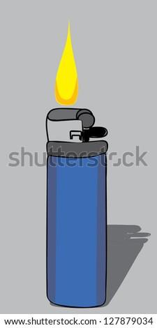 lighter - stock vector