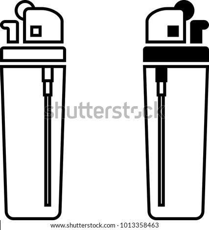 lighter icon cigarette lighter vector art stock photo photo vector rh shutterstock com