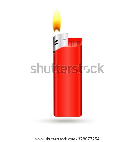 Lighter Vector illustration
