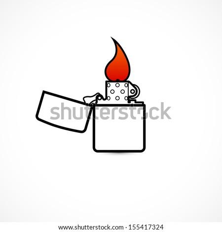 lighters - stock vector