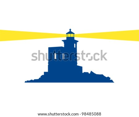 Lighthouse - stock vector