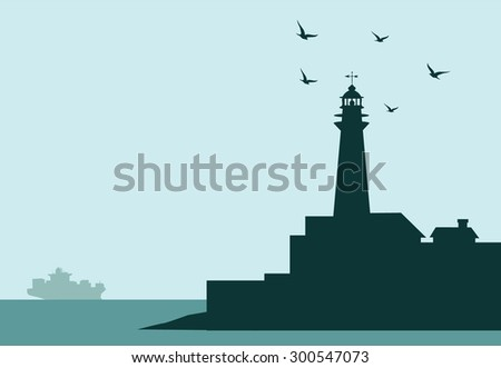 Lighthouse at Morning