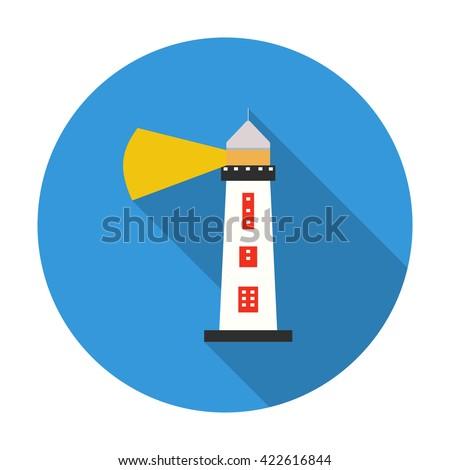 Lighthouse icon. Lighthouse icon vector. Lighthouse icon flat. Lighthouse icon app. Lighthouse icon web. Lighthouse icon logo. Lighthouse icon sign. Lighthouse icon cartoon. Lighthouse icon design.  - stock vector