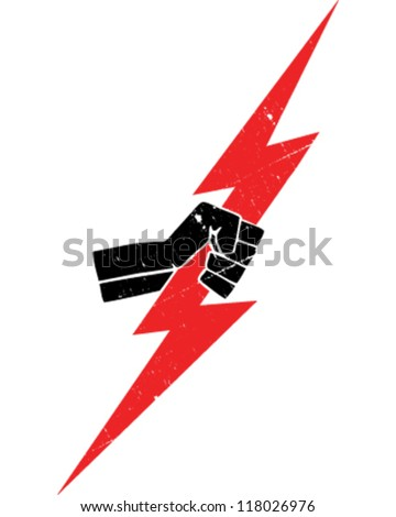 Lightning Bolt Stock Vector 118026976 Shutterstock