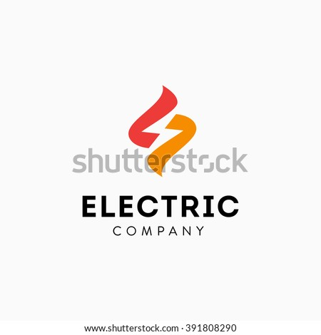 Lightning Bolt Minimal Simple Symbol. Memorable Visual Metaphor. Represents the Concept of Electricity, Power, Strength, Zeal, Enthusiasm, Speed, Fast delivery, Storm, Energy, Light, Action, Shock etc - stock vector