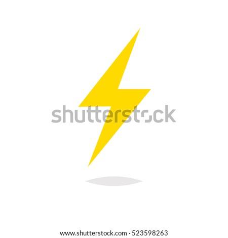 lightning bolt vector stock photo photo vector illustration rh shutterstock com lighting bolt vector lighting bolt vector free