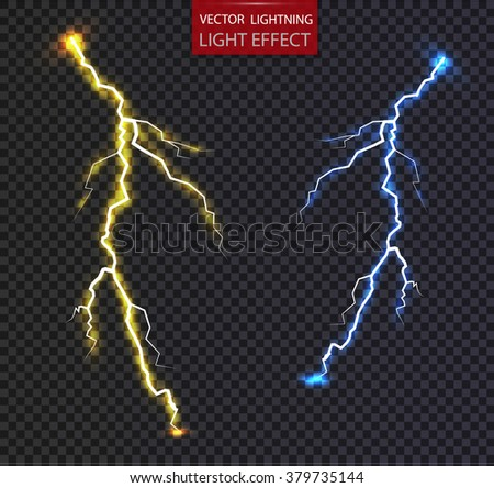 lightning.electrician - stock vector