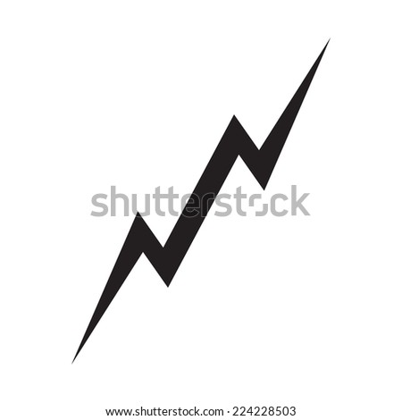 lightning vector stock photo photo vector illustration 224228503 rh shutterstock com vector lightning free ford lightning vector
