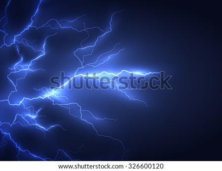 Lightning vector background. Eps10. - stock vector