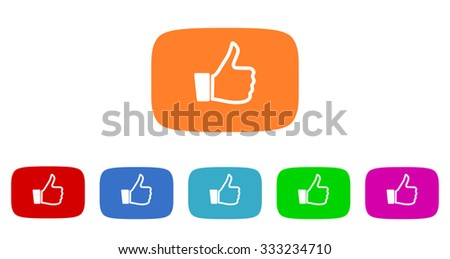 like flat design modern vector circle icons colorful set for web and mobile app isolated on white background