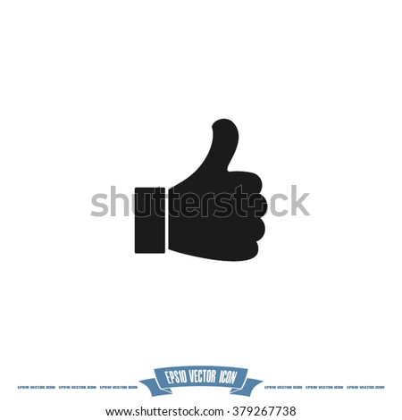 Like Icon. - stock vector