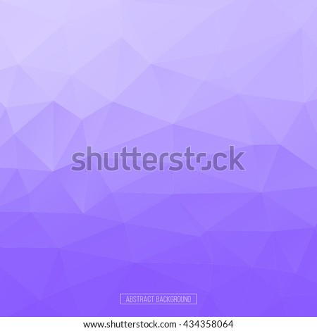 Lilac polygon pattern. hexagon background. triangle background, Design element - stock vector