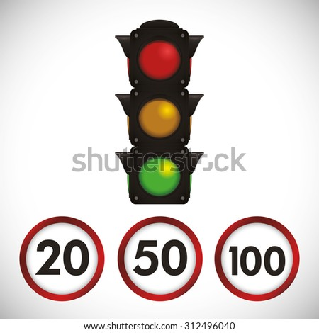 limit of km design, vector illustration 10 eps graphic
