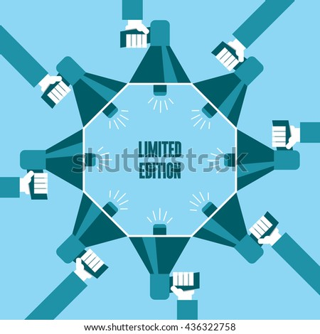 Limited Edition - stock vector