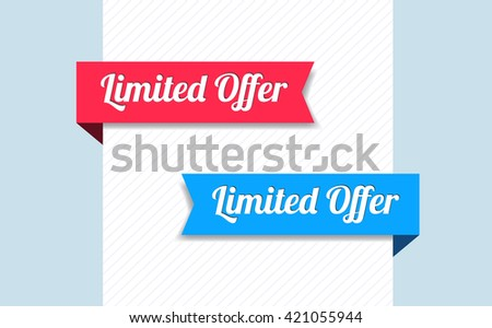 Limited Offer Ribbons