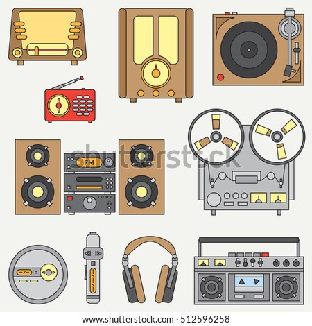 15,628 Retro Microphone Stock Illustrations, Cliparts And Royalty ...