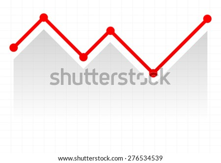 Line Graph Element Graph Chart Over Stock-Vektorgrafik 276534539 ...
