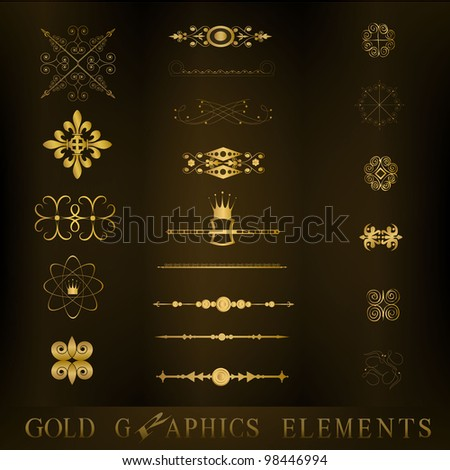 line of vintage - stock vector