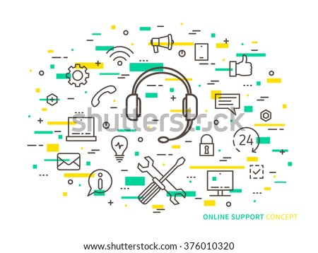Helpdesk stock photos royalty free images vectors for Graphic design consultant