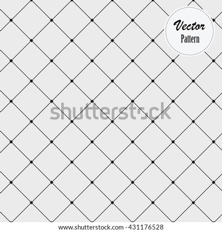 linear vector pattern, linear diamond shape decorate with abstract star at center