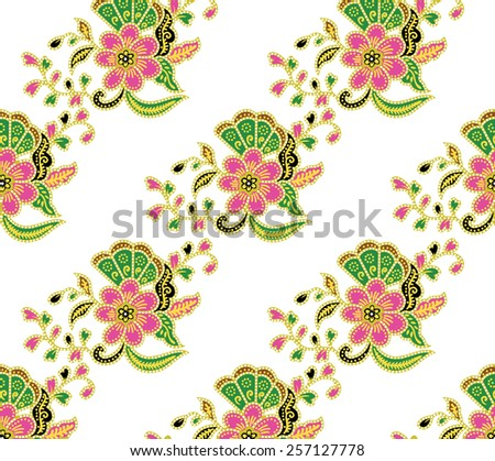 Lined beautiful full color Vector of art. - stock vector