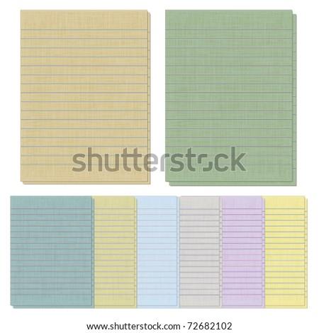 Yellow Notebook Paper Background Vectors Images Vector – Yellow Notebook Paper Background
