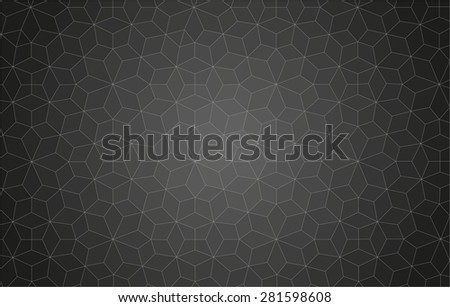 lines abstract ornamental pattern background for your design - stock vector