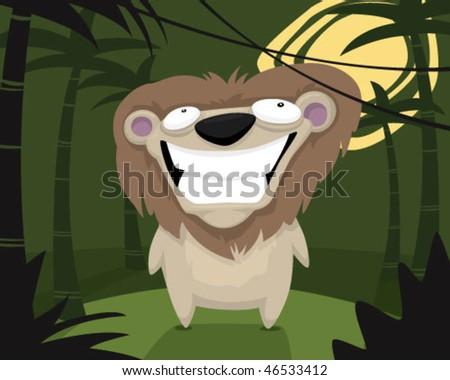 Lion. - stock vector