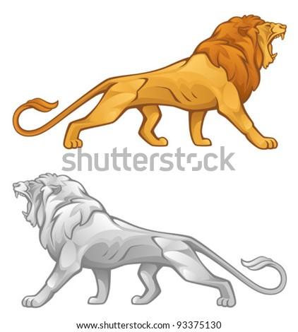 Lion - stock vector