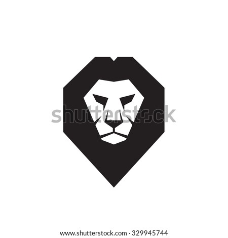 lion head vector stock images, royalty-free images & vectors