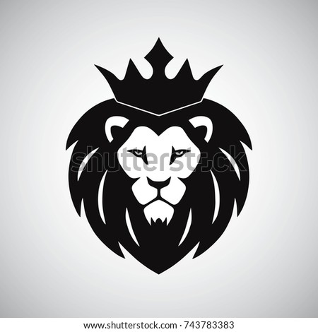 Lion King With Crown Logo