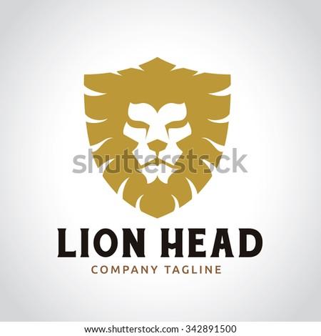 Lion Logo - stock vector