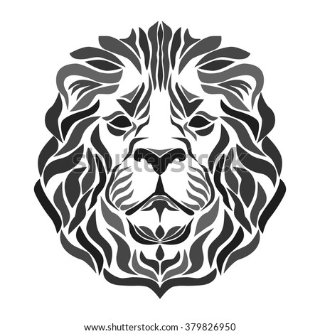 Lion's head for your design.
