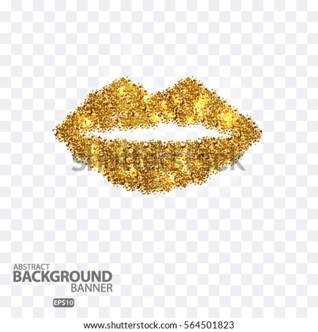 Gold Lips Stock Images Royalty Free Images Amp Vectors