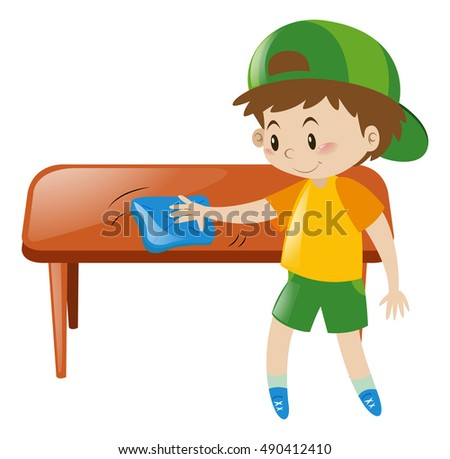 Kids Cleaning Stock Images, Royalty-Free Images & Vectors ...