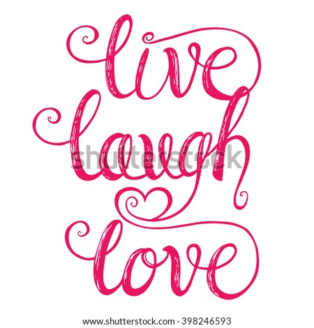 Live laugh love design greeting cards stock vector 398246593 live laugh love design for greeting cards valentine day wedding posters m4hsunfo
