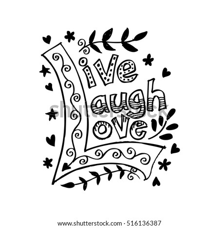 Live Love Laugh Quote Stock Images, Royalty-Free Images ...