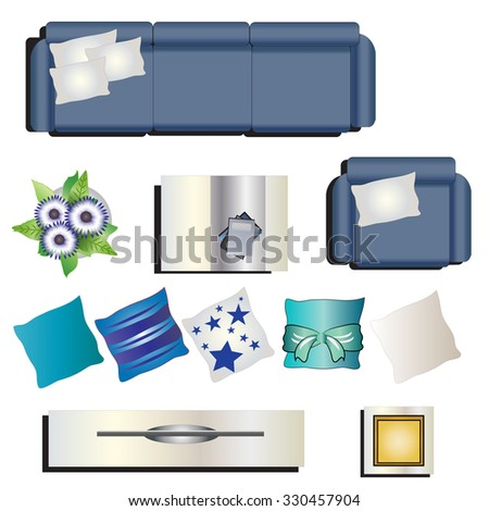 https://thumb1.shutterstock.com/display_pic_with_logo/3462662/330457904/stock-vector-living-room-furniture-top-view-set-for-interior-vector-illustration-330457904.jpg