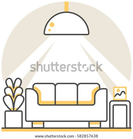 Interior Design Icon Stock Images Royalty Free Vectors