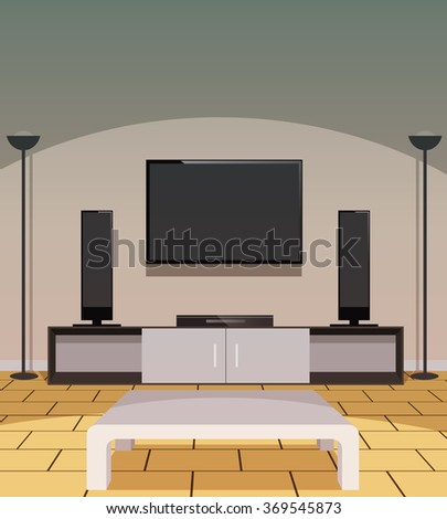Home Furniture And Appliance Vector Stock Photos Royalty Free