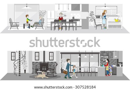 Living space / Family