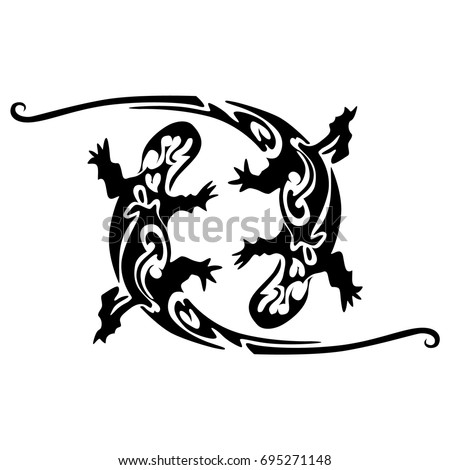Iguana Tattoo Stock Images, Royalty-Free Images & Vectors