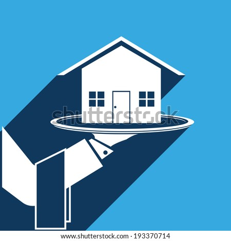 loan service - stock vector