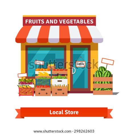 Grocery store stock images royalty free images vectors for Find a local builder