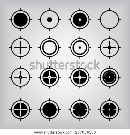 Location Crosshair Icons