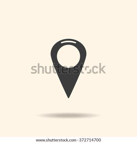 Location Icon, Location Icon Vector, Location Icon JPG, Location Icon JPEG, Location Icon EPS, Location Icon design - stock vector