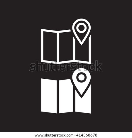 location icon, map icon, map icon vector,map , map flat icon, map icon eps, map icon jpg, map icon path, map icon flat, map icon app, map icon web, map icon art, map icon, map icon AI, map icon - stock vector