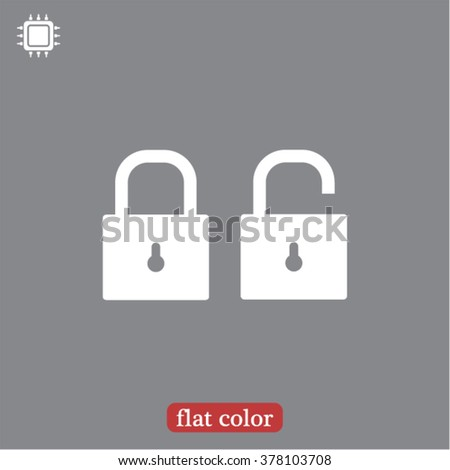 Lock icon, lock vector icon, lock icon illustration, lock icon eps, lock icon jpeg, lock icon picture, lock flat icon, lock icon design, lock icon web, lock icon art, lock ui icon. - stock vector
