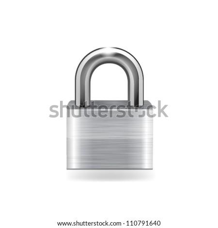 Lock icon. Vector - stock vector